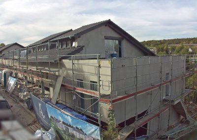 Außenansicht Neubau Mehrfamilienhaus