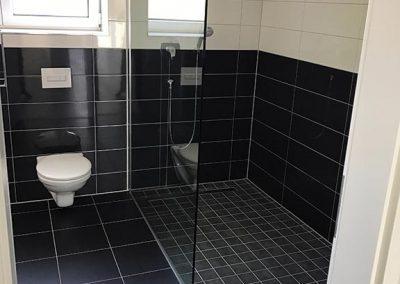 WC + Duschbereich