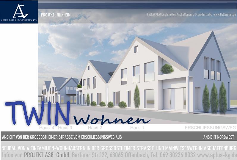 Neubau in Aschaffenburg-Damm